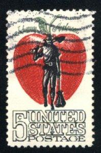 USA 1317  Used 1966 PD