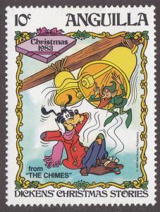Anguilla 553 Disney's Goofy and Elf 1983