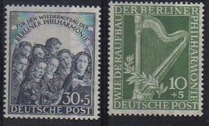Berlin #9Nb4-5  Mint VF NH - Lakeshore Philatelics