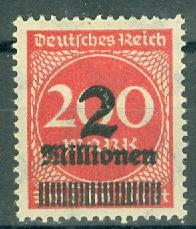 Germany - Reich - Scott 269 MH