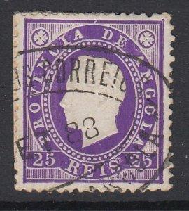 ANGOLA, Scott 19, used