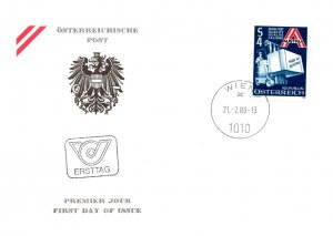 Austria, Worldwide First Day Cover