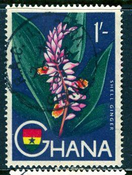 Ghana; 1959: Sc. # 57: O/Used Single Stamp