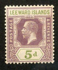 Leeward Islands, Scott #74, Mint, Never Hinged