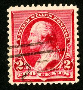 US Stamps # 220a VF Used