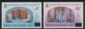 Tristan da Cunha 220-221 MNH (1977)