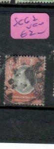 BRITISH CENTRAL AFRICA  (PP0406B)  KE  6D   SG 62   VFU