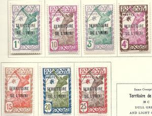 Inini  #1-4,7-9    (M  CV $3.60