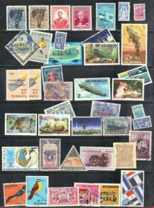 NICARAGUA STAMPS  LOT #1  SEE SCAN