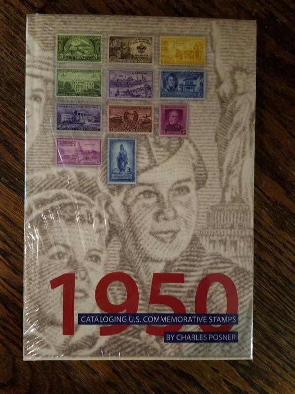 Stamps US Commemorative Stamps 1950 By Charles Posner in original shrink wrap