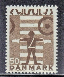 DENMARK  SC# 466 **MNH**   1970 SCHOOL SAFETY PATROL  SEE SCAN