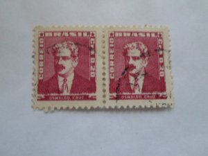 BRASIL STAMP USED hr. (lot of 2 stamps )#20