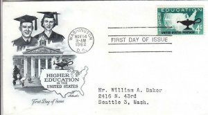 1962, Higher Education, Artmaster, FDC (D14418)
