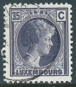 Luxembourg, Sc #167, 35c Used