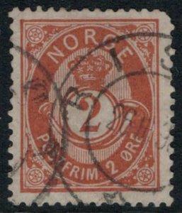 Norway #37  CV $10.00