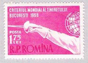 Romania Fencing 175 (AP113817)