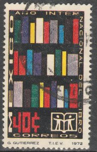 MEXICO 1048, International Book Year. Used.VF. (261)