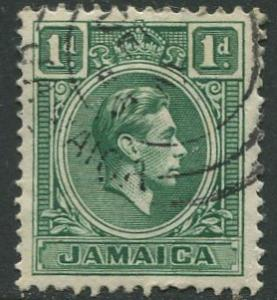 Jamaica -Scott 149 - KGVI Definitive -1951 - Used - Single 1p Stamp