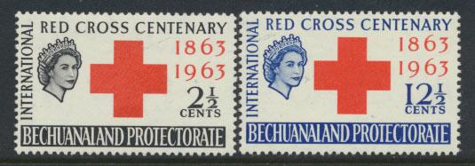 Bechuanaland  SG 183 - 184 Lightly Mounted Mint