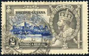 BRITISH GUIANA - 1935 - SG 301 2c KGV Silver Jubilee - Used