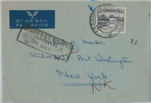 74890 - PAKISTAN - POSTAL HISTORY -  PECHS society postmark on COVER  1960's