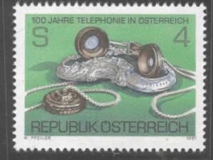 Austria Scott 1179 MNH**  1981 telecom stamp