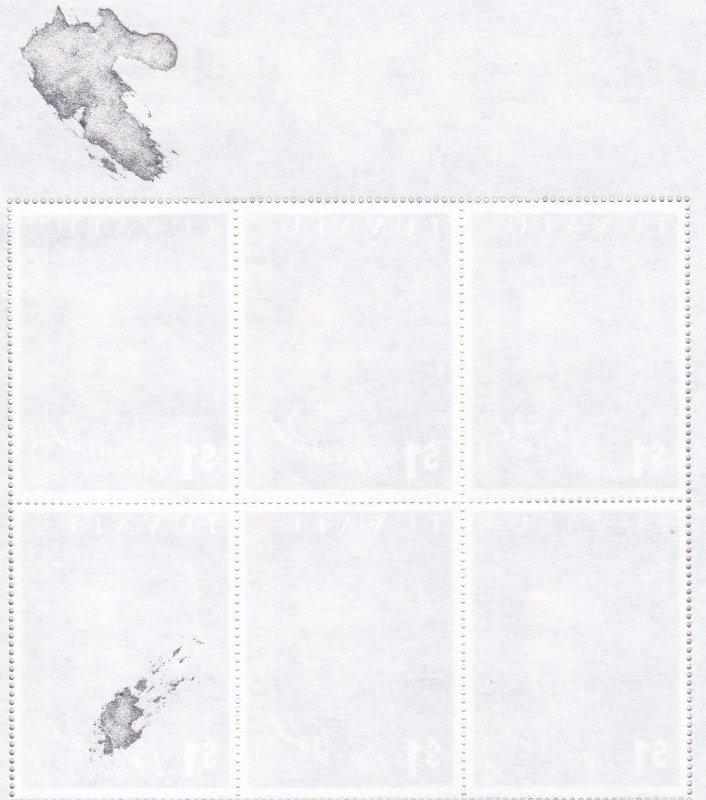 Tuvalu # 898,  Elvis Presley, Sheet of 6, 15%, (See Notes)