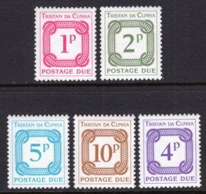 Tristan da Chuna J6-J10 MNH VF