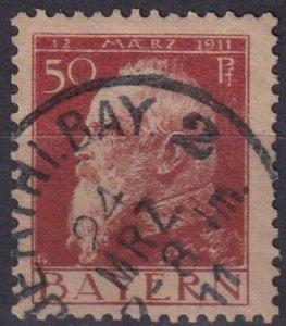 Bavaria #84 F-VF Used CV $3.25 (Z3763)