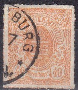 Luxembourg #26  F-VF  Used  CV $80.00  Z1136