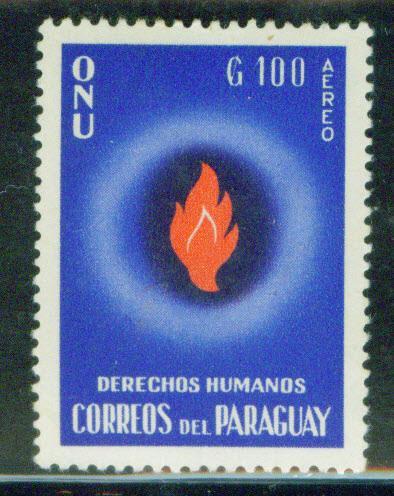 Paraguay Scott C271 MH* Airmail stamp