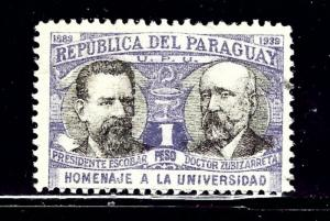 Paraguay 352 Used 1939 issue