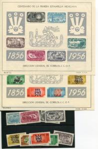 Mexico  #891-95, C229-3 Mint NH VF -  Lakeshore Philatelics