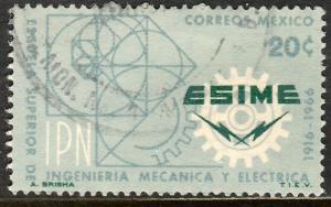 MEXICO 972, 50th Aniv School of Mech & Electrical Engineering Used  VF. (197)