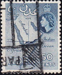 Aden #53b Used    p.12