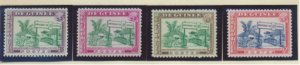 Guinea Stamps Scott #346 To 349, Mint Never Hinged