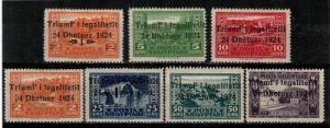 Albania Scott 164-70 Mint hinged (Catalog Value $26.25)