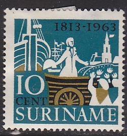 Surinam 314 Hinged 1963 Prince William of Orange Landing