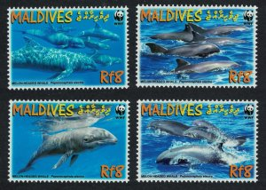 Maldives MNH 2987a-d Melon-Headed Whales 2009