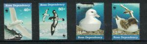 Ross Dependency L43 - L44 + L46 - L47 - Seabirds. Set Of 4. MNH OG.#02 ROSSL43s4