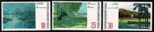 GERMANY BERLIN 1972 PAINTINGS of LAKES SET MINT (NH) SG B418-B420 P.14 SUPERB