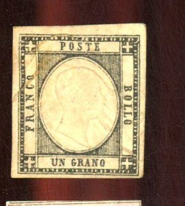TWO SICILIES #21 MINT FVF NG Cat $400