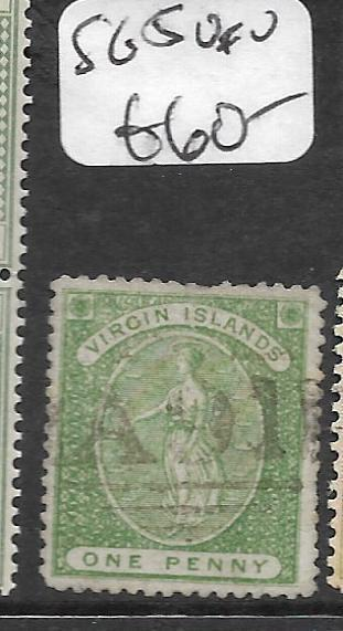 VIRGIN ISLANDS  (P2910B)  1/2D  SG 5   VFU