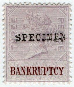 (I.B) QV Revenue : Bankruptcy 3d (specimen)