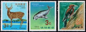 Ryuku Islands  # 140 - 142 LH