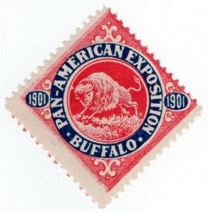 (I.B-CKK) US Cinderella : Pan-American Exposition (Buffalo 1901)