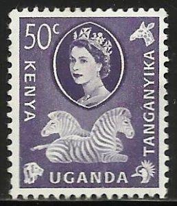 Kenya, Uganda & Tanzania 1960 Scott# 127 MH