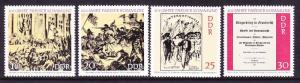 DDR #1281-1284 MNH CV$1.15