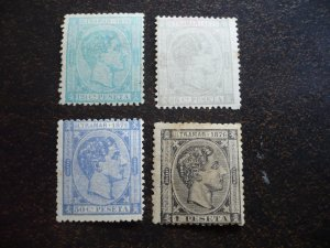 Stamps - Cuba - Scott# 67-70 - Mint Hinged Set of 4 Stamps