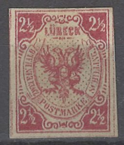 COLLECTION LOT # 2027 LUBECK #4 1872 REPRINT